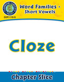 Word Families - Short Vowels: Cloze