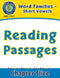 Word Families - Short Vowels: Reading Passages