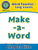 Word Families - Long Vowels: Make-a-Word