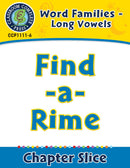 Word Families - Long Vowels: Find-a-Rime
