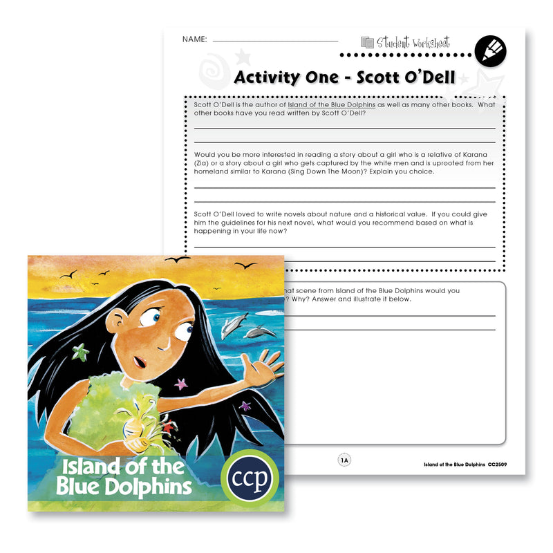 Island of the Blue Dolphins: Author Review - WORKSHEETS