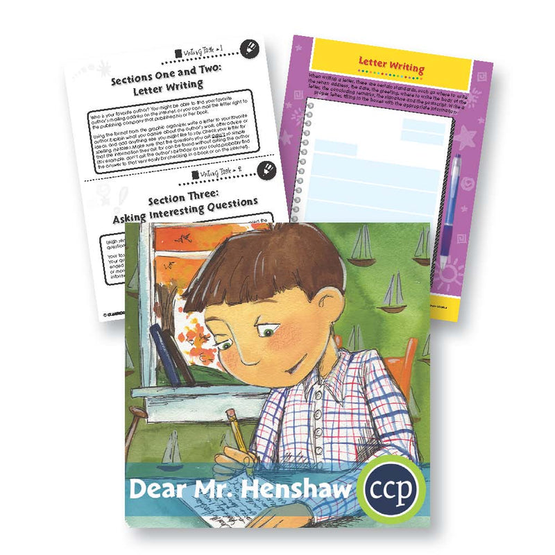 Dear Mr. Henshaw: Letter Writing - WORKSHEETS