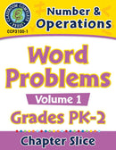 Number & Operations: Word Problems Vol. 1 Gr. PK-2