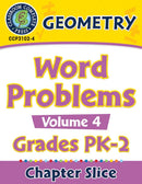 Geometry: Word Problems Vol. 4 Gr. PK-2