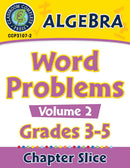 Algebra: Word Problems Vol. 2 Gr. 3-5