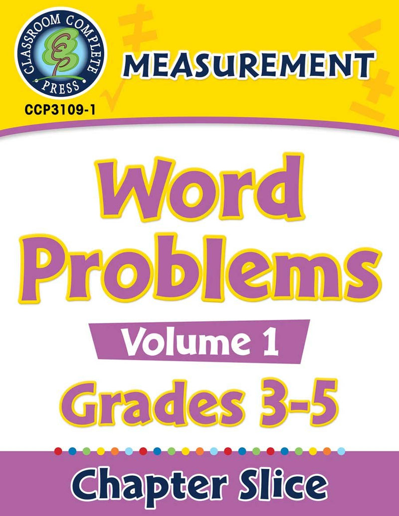 Measurement: Word Problems Vol. 1 Gr. 3-5