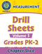 Measurement - Drill Sheets Vol. 5 Gr. PK-2