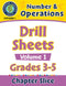 Number & Operations: Drill Sheets Vol. 1 Gr. 3-5