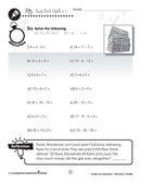 Number & Operations: Drill Sheet Sample Gr. 3-5 - WORKSHEET