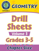 Geometry: Drill Sheets Vol. 3 Gr. 3-5