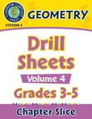 Geometry: Drill Sheets Vol. 4 Gr. 3-5