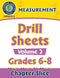 Measurement - Drill Sheets Vol. 2 Gr. 6-8