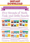 Five Strands of Math - Task and Drills Bundle