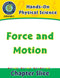 Hands-On - Physical Science: Force and Motion Gr. 1-5