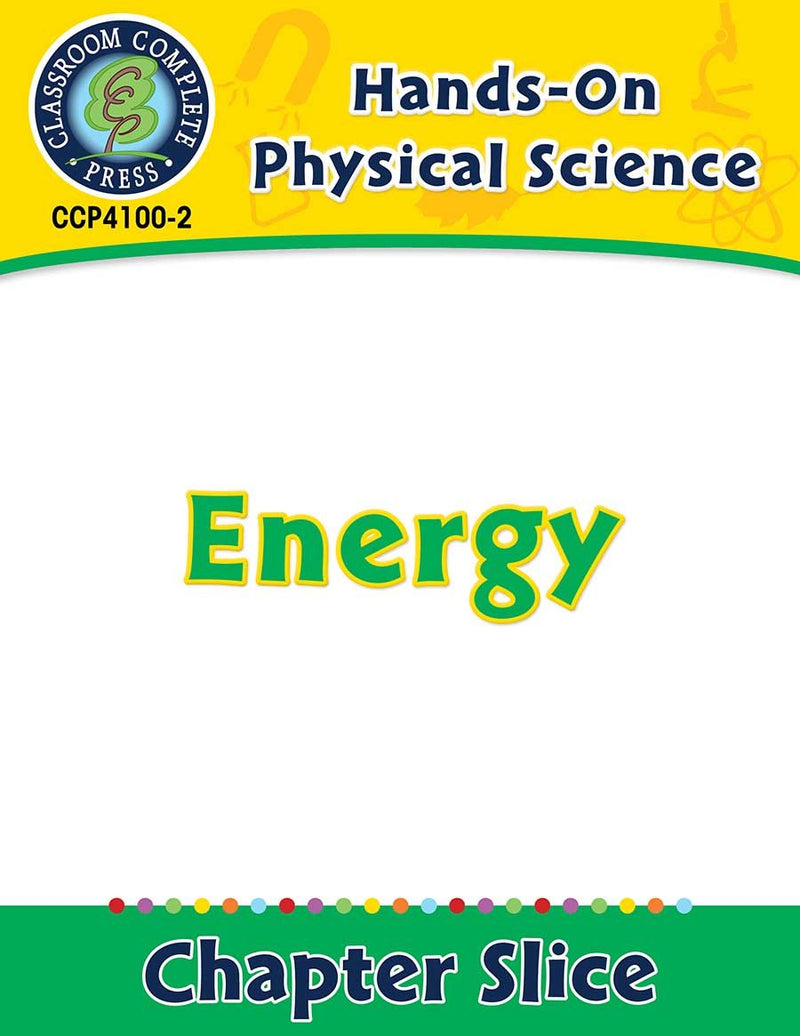 Hands-On - Physical Science: Energy Gr. 1-5