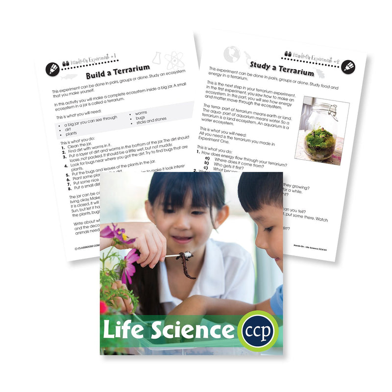 Life Science: Build and Study a Terrarium - WORKSHEET