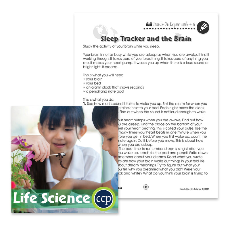 Life Science: Sleep Tracker - WORKSHEET