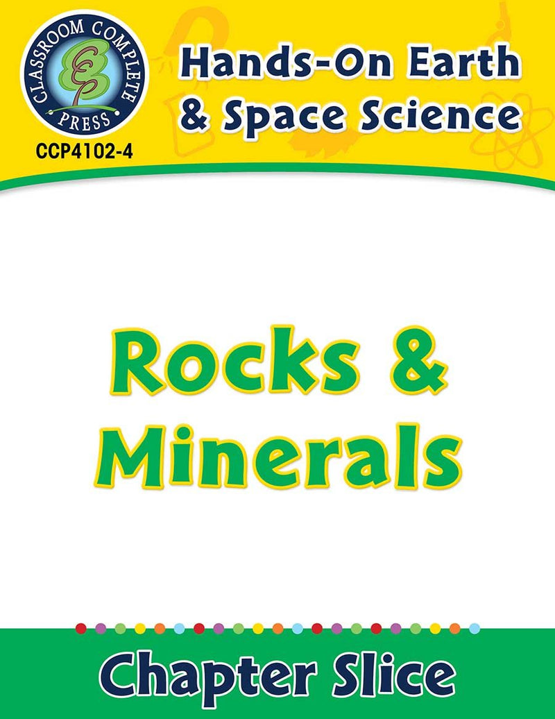 Hands-On - Earth & Space Science: Rocks and Minerals Gr. 1-5
