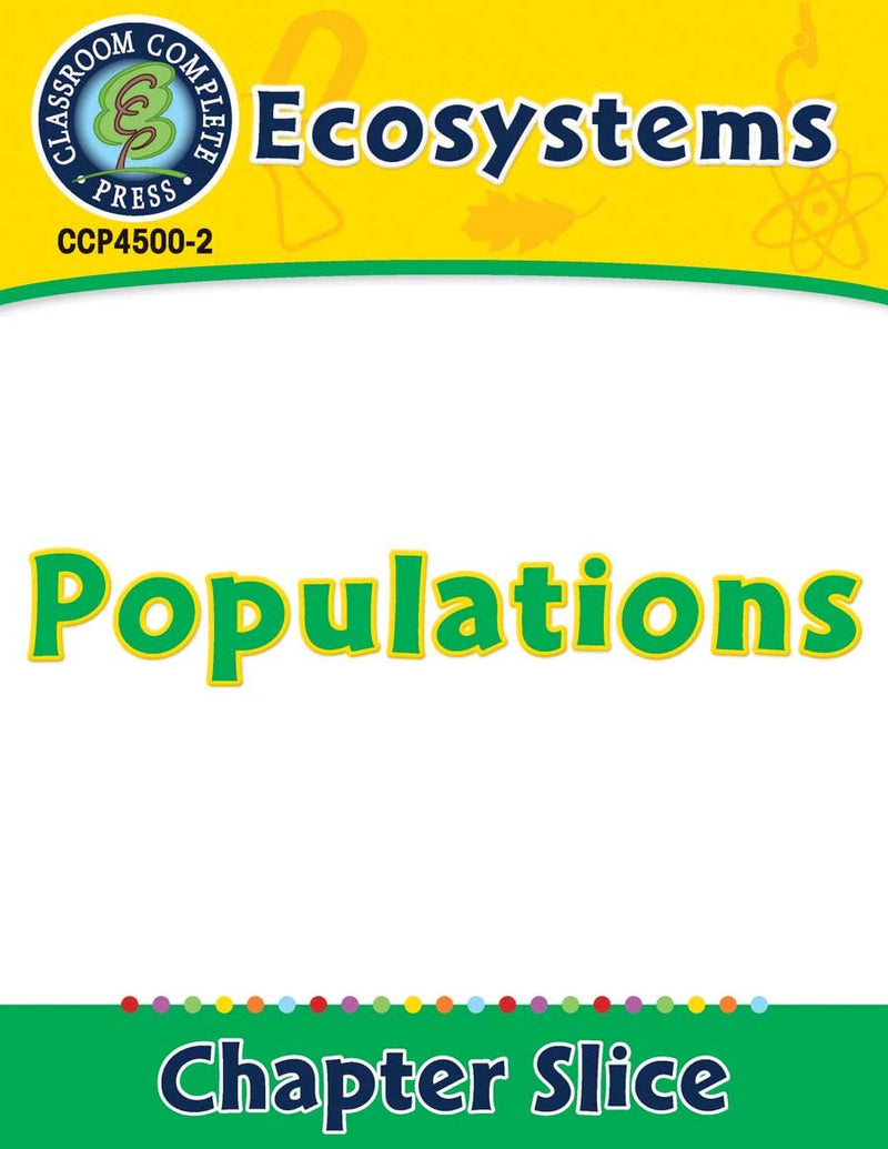 Ecosystems: Populations