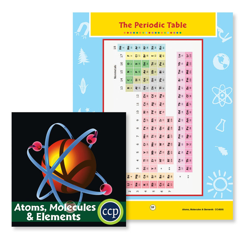 Atoms, Molecules & Elements: The Periodic Table - WORKSHEET
