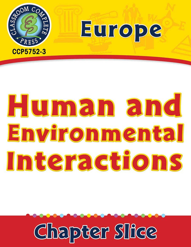 Europe: Human and Environmental Interactions Gr. 5-8