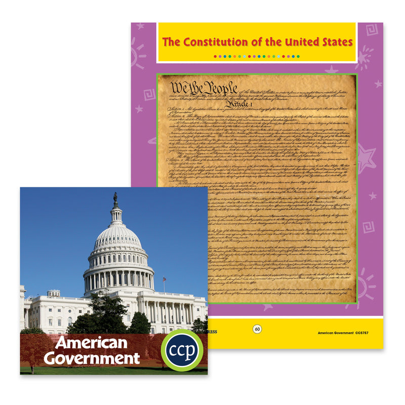 American Government: The Constitution of the United States - WORKSHEET