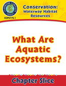 Conservation: Waterway Habitat Resources: What Are Aquatic Ecosystems? Gr. 5-8