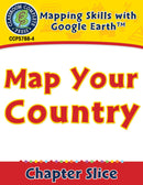 Mapping Skills with Google Earth Gr. 6-8: Map Your Country