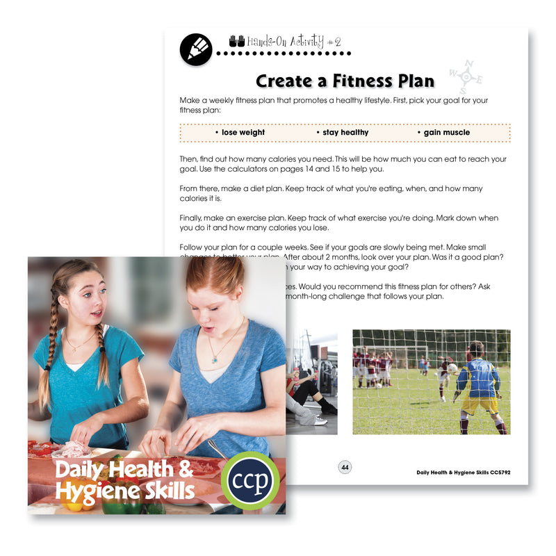 Daily Health & Hygiene Skills: Create a Fitness Plan - WORKSHEET