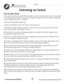 Learning Problem Solving: How the Brain Works - WORKSHEET