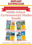 Middle School Environmental Studies Bundle