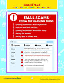 Managing Money: Email Fraud - WORKSHEETS