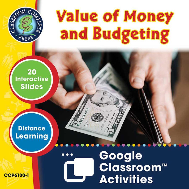 Daily Marketplace Skills: Value of Money & Budgeting - Google Slides (SPED)