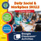 Daily Social & Workplace Skills - Google Slides BUNDLE (SPED)