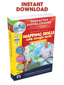 Mapping Skills with Google Earth - Grades 6-8 - DIGITAL LESSON PLAN