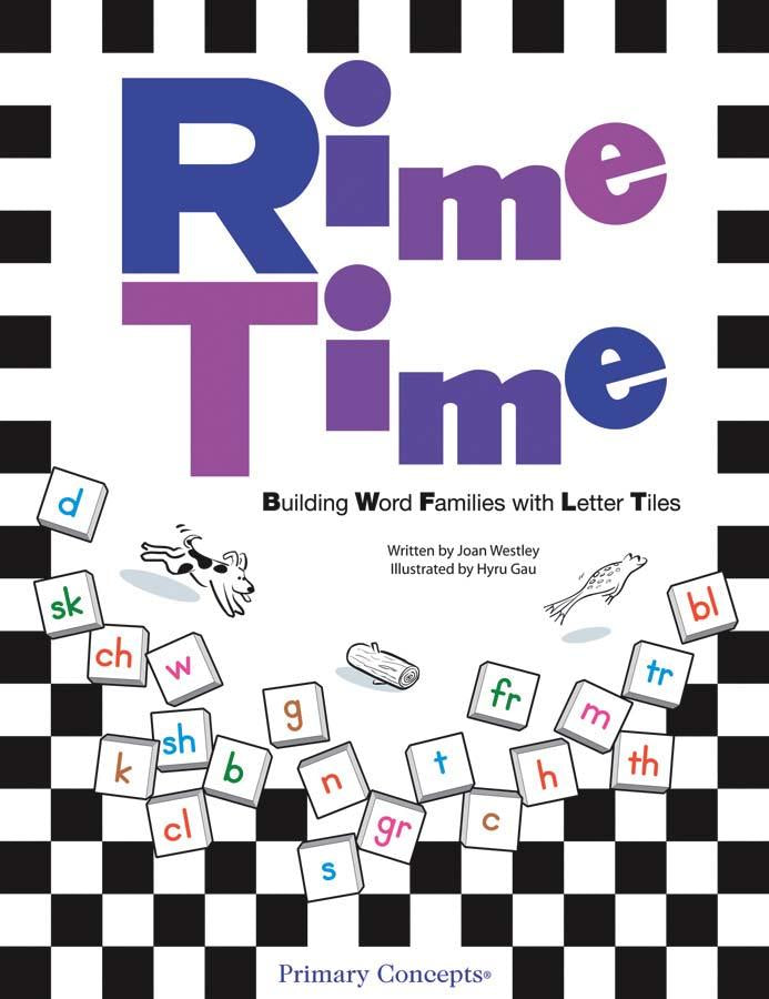 Rime Time: Building Word Families with Letter Tiles