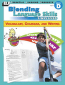 Blending Language Skills Simplified: Vocabulary, Grammar, and Writing (Book D, Grade 4)