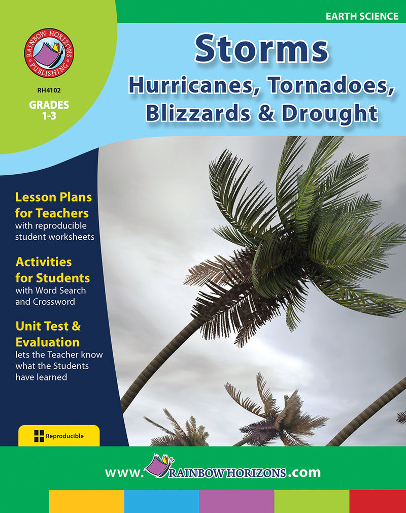 Storms: Hurricanes, Tornadoes, Blizzards & Drought