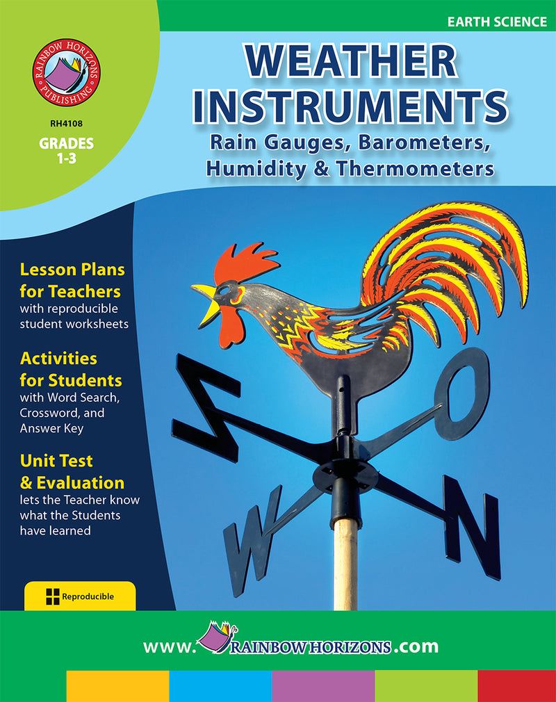 Weather Instruments: Rain Gauges, Barometers, Humidity & Thermometers