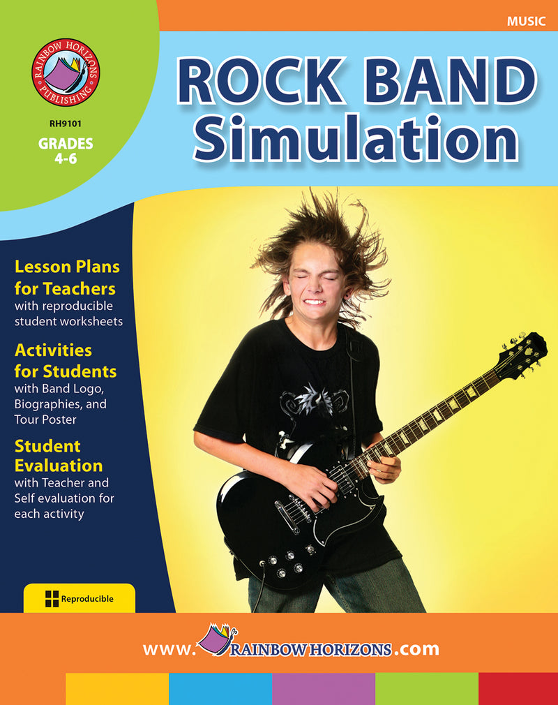 Rock Band Simulation