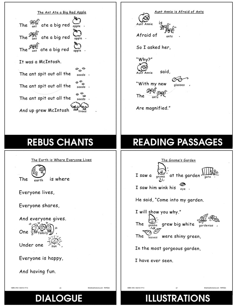 Rebus Chants A to Z