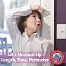 Let's Measure Up: Length, Time, Perimeter