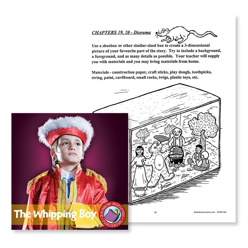 The Whipping Boy (Novel Study): Diorama - WORKSHEET
