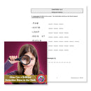 How Can a Brilliant Detective Shine in the Dark? (Novel Study): Message Unscrambling - WORKSHEET