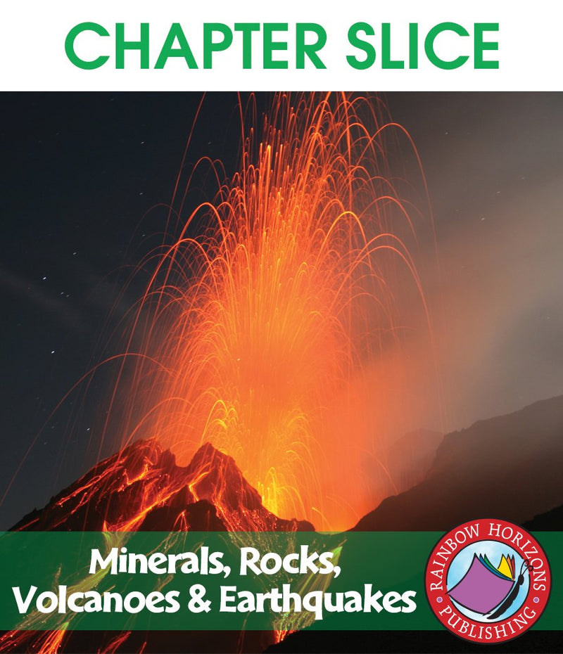 Minerals, Rocks, Volcanoes & Earthquakes - CHAPTER SLICE