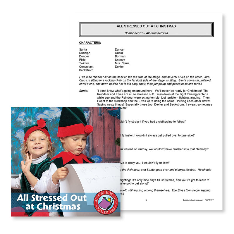 All Stressed Out at Christmas: Component 1 Excerpt - WORKSHEET