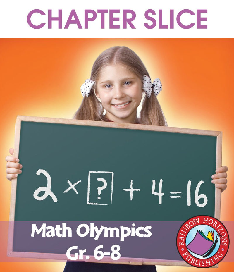 Math Olympics Gr. 6-8 - CHAPTER SLICE