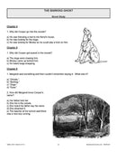 Ghosts: Reading Comprehension (Novel Study): The Barking Ghost Chapter 4-6 Questions - WORKSHEET
