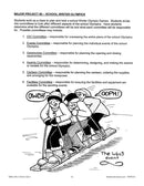 Winter Olympic Games: Major Project Outline - WORKSHEET