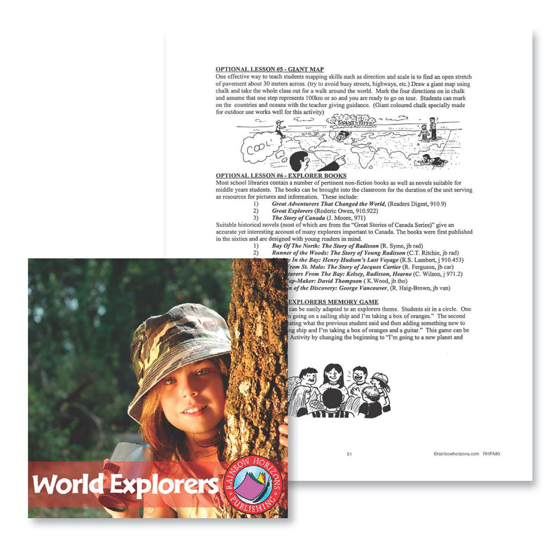 World Explorers: Optional Lessons 5-7 - WORKSHEET